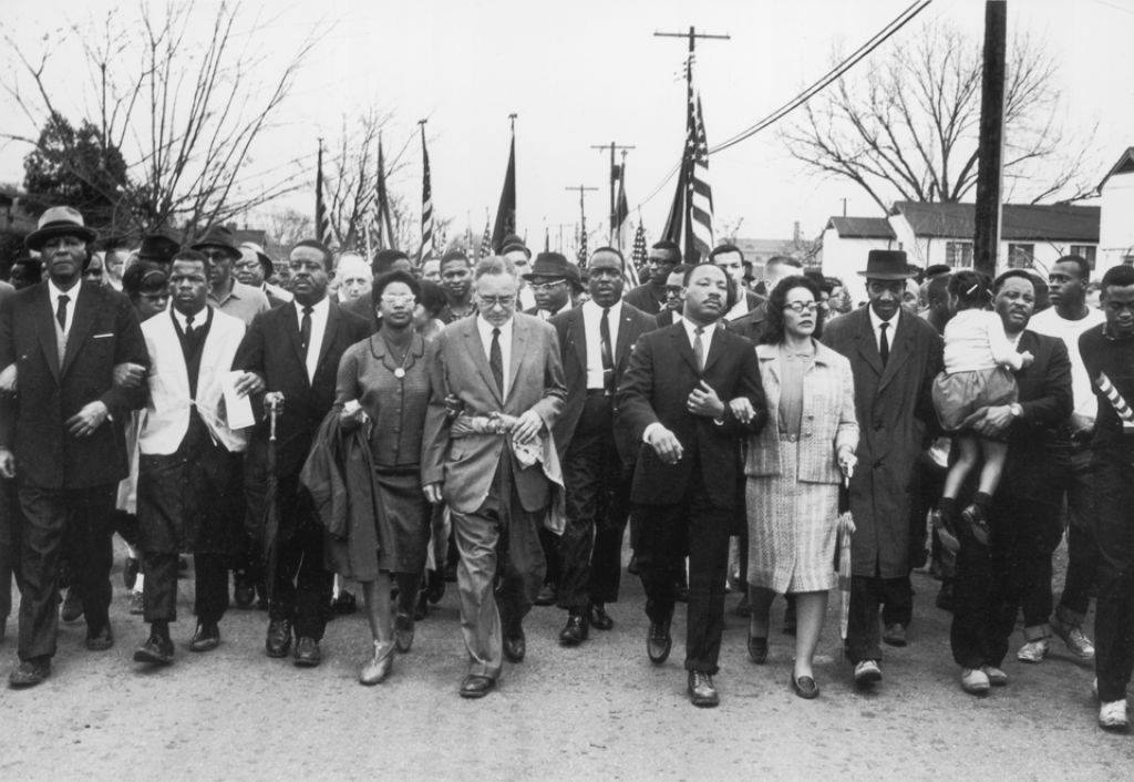 MLKJr and other activists